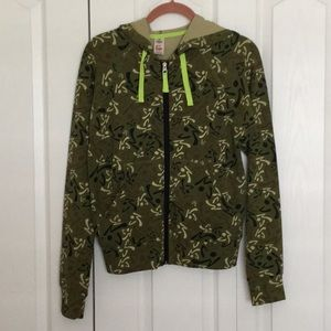 Zumba Hooded Jacket and Matching Crop Pants Size L